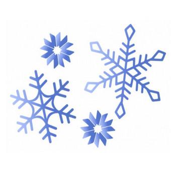 雪の結晶のイラスト素材 | イラスト無料・かわいいテンプレート