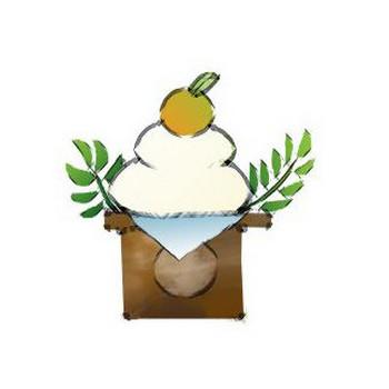 年賀状素材 鏡餅 | 素材屋HOUSE <ハウス> - 無料素材・手描き風のイラスト
