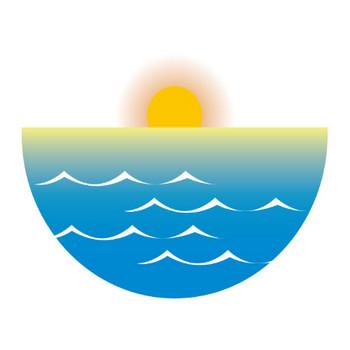 イラストポップの季節の素材 | 春夏秋冬の行事や風物のイラスト1月1-No20初日の出の無料ダウンロードページ