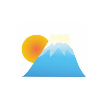 日の出と富士山の年賀状イラスト | 年賀状2019 無料イラスト