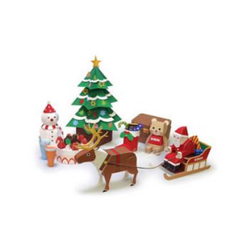 Happy クリスマス|秋・冬のペーパークラフト|KIRIN KIDS|キリン