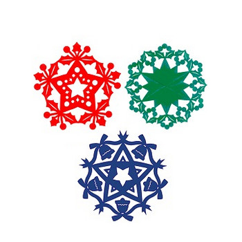 クリスマス飾りを切り絵で作ろう!手作りオーナメントの作り方 | クリスマス2018を楽しもう!