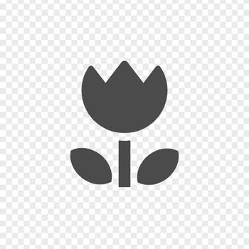 チューリップイラスト   アイコン素材ダウンロードサイト「icooon-mono」   商用利用可能なアイコン素材が無料(フリー)ダウンロードできるサイト