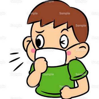 風邪,かぜ,病気,ばい菌,マスク,人物,のイラスト(005_0139) | クリエーターズスクウェア