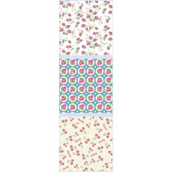 苺(イチゴ)の壁紙 イラスト=壁紙タンク,条件付フリー素材集