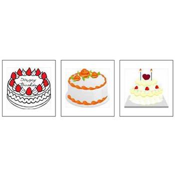 色々なケーキのイラスト/【無料で使えるフリー素材集】