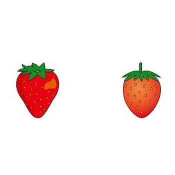 りんご、みかん、バナナなど果物のクリップアート-無料イラスト素材のイラストポップ