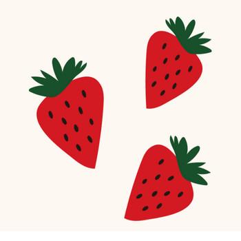 苺(イチゴ・いちご)のイラスト【フルーツ・果物】 | 商用フリー(無料)のイラスト素材なら「イラストマンション」