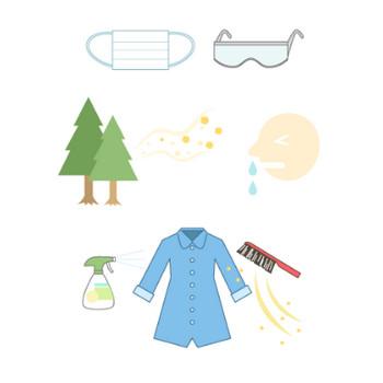 花粉症|商用利用できるフリー素材サイト|ハコハコ マテリアル