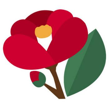 [無料イラスト] つばきの花 - パブリックドメインQ:著作権フリー画像素材集