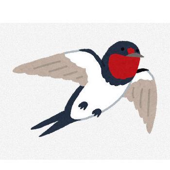 燕のイラスト | かわいいフリー素材集 いらすとや