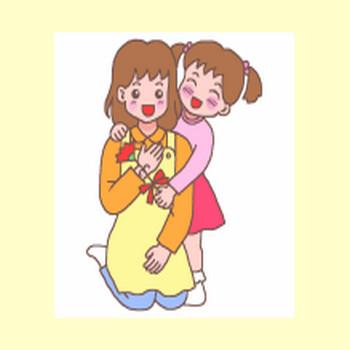 母の日1/春の行事・季節/無料イラスト【みさきのイラスト素材】