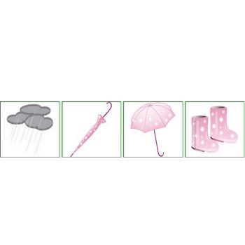 梅雨のイラスト|無料|素材リストD.B