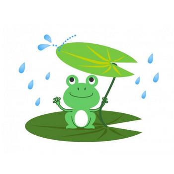 カエル(蛙)イラスト素材02 | イラスト無料・かわいいテンプレート