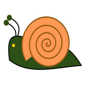 Snail 13 Clip Art at Clker.com - vector clip art online, royalty free & public domain