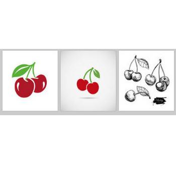 チェリー に関するベクター画像、写真素材、PSDファイル | 無料ダウンロード