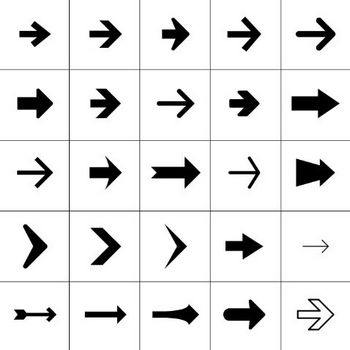 56 Free Arrow Symbols & Icons - /designworkplan wayfinding design studio
