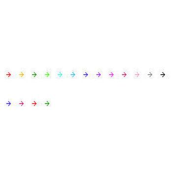 ≪フリー素材のたね≫ ~個人・商用OK!無料ホームページ素材~ 矢印