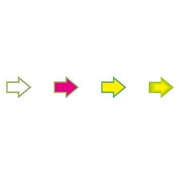 イラストポップのマーク素材 | 矢印の無料マーク素材