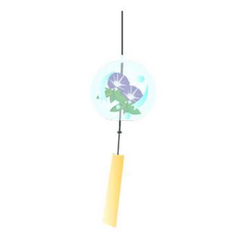 風鈴のイラスト、アイコン | イラスト素材パラダイス 商用利用無料のイラスト素材