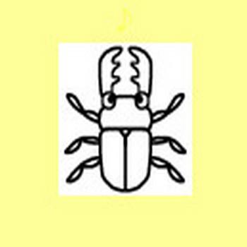 虫・昆虫1/ミニカット/無料イラスト【みさきのイラスト素材】