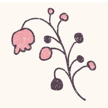 おしゃれでかわいい♪スズラン(お花)スタンプ イラスト | 商用フリー(無料)のイラスト素材なら「イラストマンション」