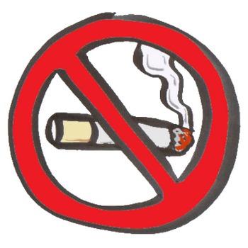 禁煙マークのイラスト:手書きPOPやイラストの無料素材:So-netブログ