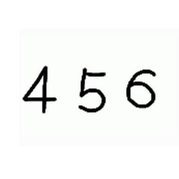 ガーリー&シンプルな数字のイラスト素材(フリー素材 400×400pix) | webデザイン素材 tigpig