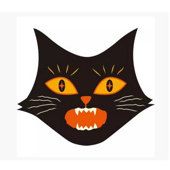 黒猫 びっくり顔 – 無料で使えるイラスト素材・PowerPointテンプレート配布サイト【素材工場】