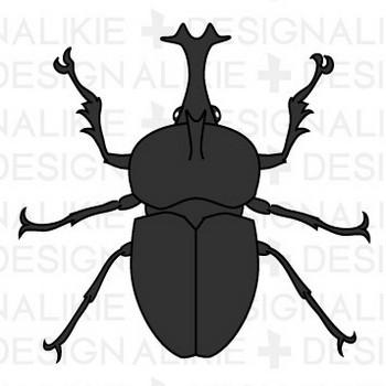 カブト虫フリーの無料イラスト素材|dakIMG