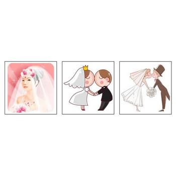 結婚・ジューンブライドのイラスト/無料のフリー素材集【花鳥風月】