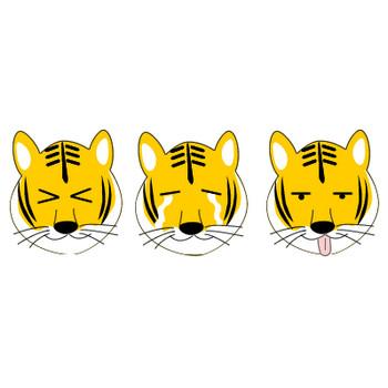 虎のイラスト素材