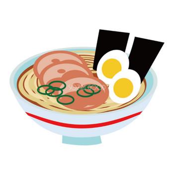 ラーメン 食べ物-食材イラスト | 素材Good