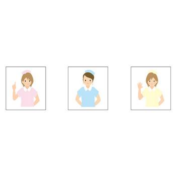 看護師のイラスト・素材「ARTBOON」