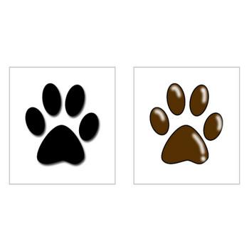 犬の足跡(肉球)イラスト・画像無料素材|犬・ペット情報がたくさん!わんことグルメ紹介サイト【カミアリーヌ】