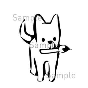犬の無料イラスト素材|登録不要のイラストぱーく