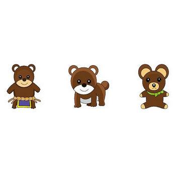 動物素材もイラストポップ | クマのイラストが無料