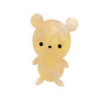 無料イラスト素材(クマ、熊、くま) | アトリエkinaco