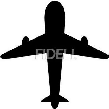 飛行機のシルエットのイラスト10のダウンロード|フィデリ・ビジネス文書集
