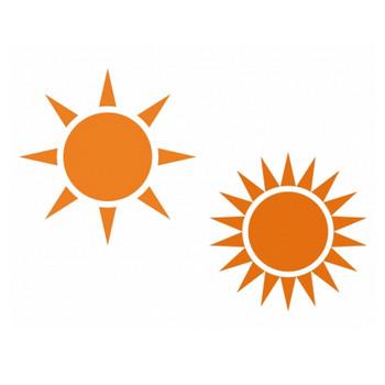 太陽・晴れイラスト素材 | イラスト無料・かわいいテンプレート
