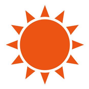 [無料イラスト] 太陽 - パブリックドメインQ:著作権フリー画像素材集