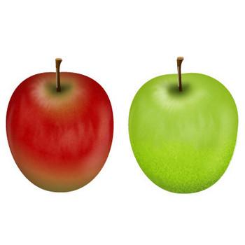 りんごイラスト 画像フリー素材|無料素材倶楽部