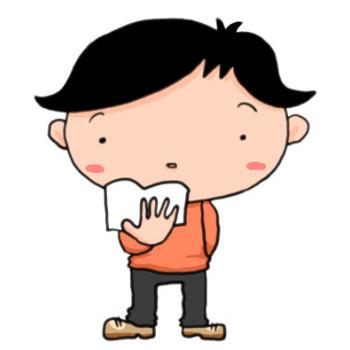 読書の秋がやってきた!文庫本を片手に立つ少年|かわいい無料イラスト素材(商用利用可)