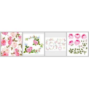 ピンクのバラ に関するベクター画像、写真素材、PSDファイル   無料ダウンロード