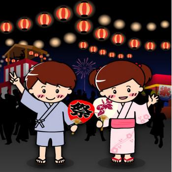 2015年版!盆踊り・夏祭り・秋祭り無料イラスト画像集 | Make It