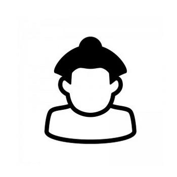 お相撲さんのシルエット | 無料のAi・PNG白黒シルエットイラスト
