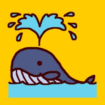 くじら鯨フリー素材のイラスト画像集めてみた