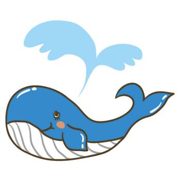 クジラ > イラストマン人物フリーイラスト素材集