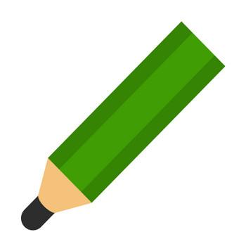 鉛筆のアイコンイラスト | illalet(イラレット)