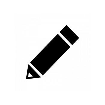 鉛筆・ペンのシルエット | 無料のAi・PNG白黒シルエットイラスト